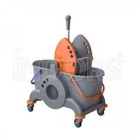TWT GIOTTO LT 30 - Chariot de nettoyage professionnel pour 2 seaux