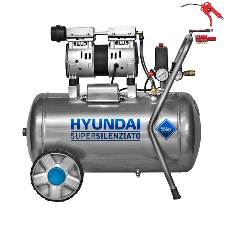 Hyundai KWU750-50L - Compressore Aria 50 Litri
