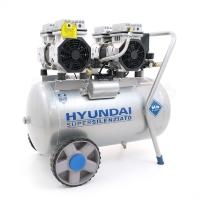 Hyundai 65706<br/>Compresseur sans huile 50 L
