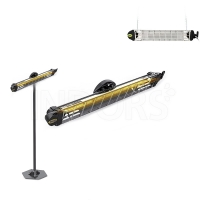 KEMPER 65432KW15 IP65 - Lampada Infrarossi Soleado