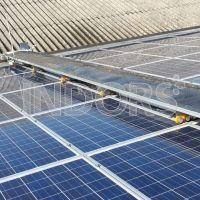 Robot pour le Nettoyage de Panneaux photovoltaïque