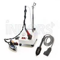 Bieffe Easy Vapor - Machine à vapeur pour repassage vertical - Fer et brosse inclus